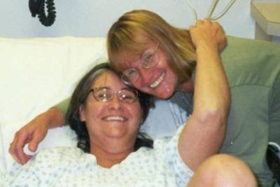 The last picture of my mom alive, with her sister who was her best friend. I named my youngest daughter after both of them.