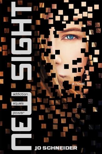 New Sight written by Jo Schneider cover